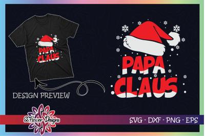 Papa Claus Christmas Family
