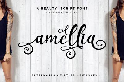 Amellia Beauty Script