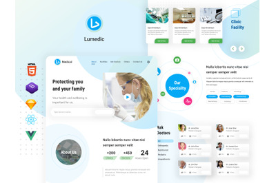 Lumedic - Medical Clinic Website