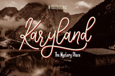 The Karyland / Natural Font Duo