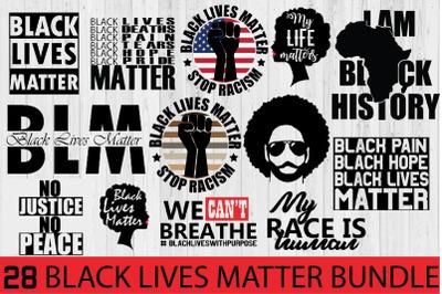 Black lives matter bundle, black lives matter svg