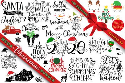 MEGA Christmas SVG Bundle 4