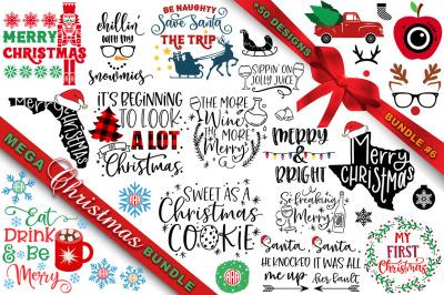 MEGA Christmas SVG Bundle 6