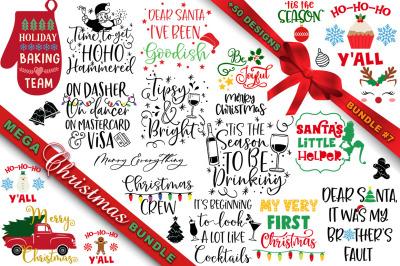 MEGA Christmas SVG Bundle 7