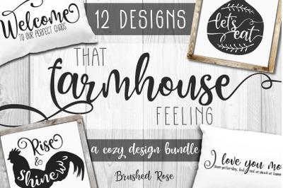 Farmhouse designs bundle | Farmhouse style svg