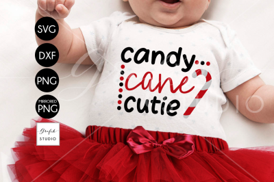 candy cane cutie svg
