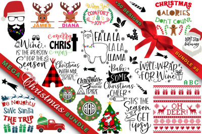 MEGA Christmas SVG Bundle 8