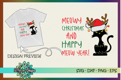 Meowy Christmas and Happy Meow Year