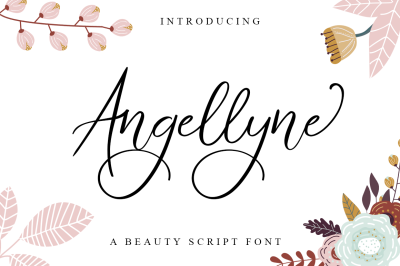 Angellyne Script