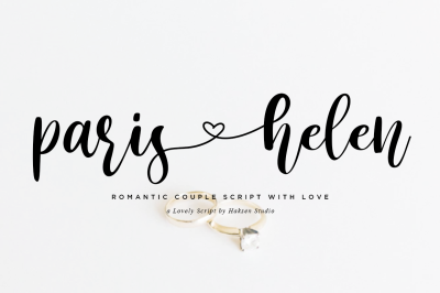 Paris Helen Romantic Couple Love Script