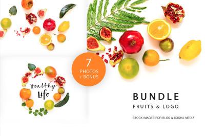 Bundle fruits & logos