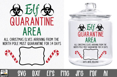 Elf Quarantine SVG File
