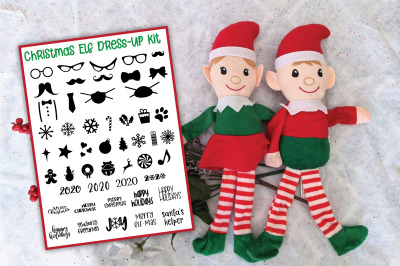 Elf Toy Kit - Elf Dress Up Kit and Adoption Certificate