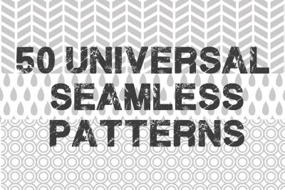 50 Universal Seamless Patterns