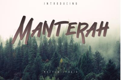 Manterah