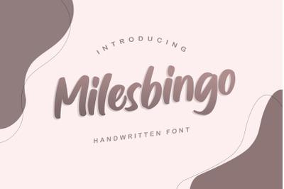 Milesbingo