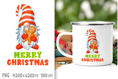 Christmas sublimation designs Christmas gnome sublimation png