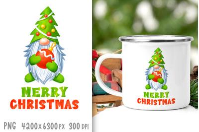 Sublimation designs Christmas gnome sublimation Gnome png clipart