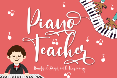 Piano Teacher Script With Harmony Feel
