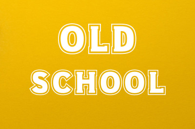Old School 80s Font