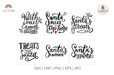 Santa svg, doodle tray svg, cookies and milk svg, santa plate svg, san