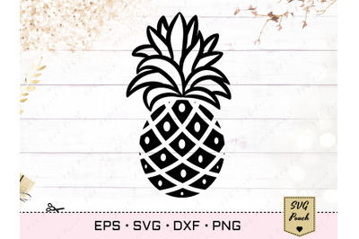 Pineapple SVG silhouette