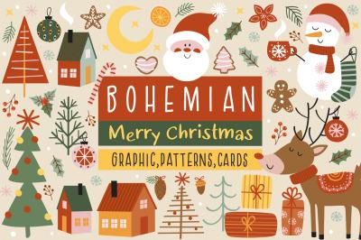 Bohemian Christmas collection