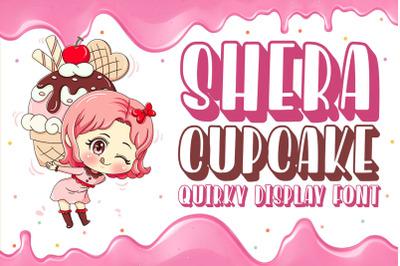 Shera Cupcake - Sweet Display Font