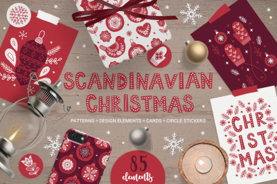 Scandinavian Christmas Kit