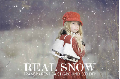 Snow overlay, Real snow overlay for photoshop,