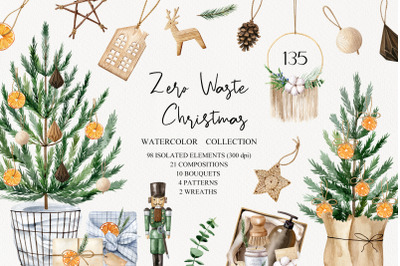 Zero Waste Christmas Set