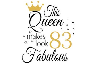 Birthday Svg, 83 Birthday svg, 83 Birthday clipart, happy birthday cri