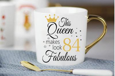 Birthday Svg, 84 Birthday svg, 84 Birthday clipart, happy birthday cri