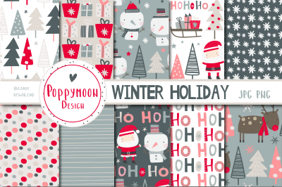 Winter Holiday Paper