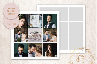 PSD Photo Collage Template #10