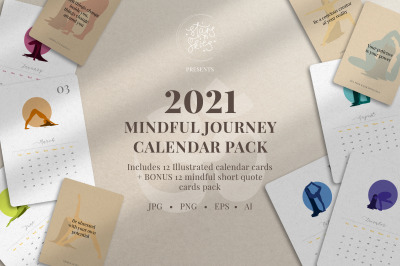 The Mindful Journey Calendar Pack
