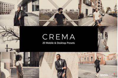 20 Crema Lightroom Presets & LUTs