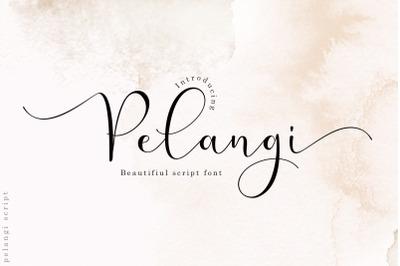 Pelangi script