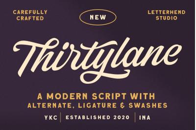Thirtylane - Modern Script