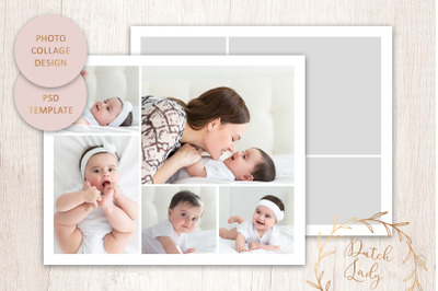 PSD Photo Collage Template #11