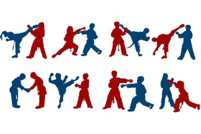 children's karate sparring