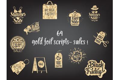 Gold Black Friday Script, Scripts Sale