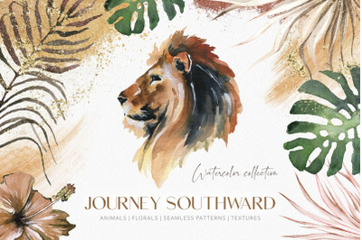 """""""Southward"""" Watercolor Collection"""
