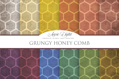 Grunge Honeycomb Texture