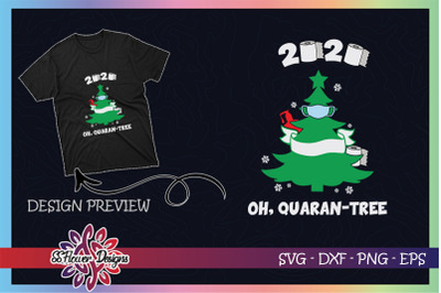 2020 Quarantine Christmas Quaran-tree