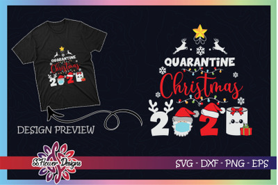 Quarantine Christmas mask Toilet paper