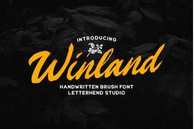 Winland - Brush Font