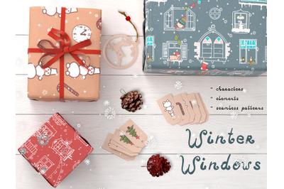 """Winter Windows"" Grafick Pack"