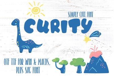 Cute Font For Kids, Win Mac SVG