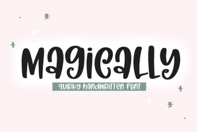 Magically - Quirky Handwritten Font